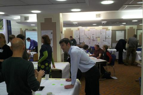 Action planning at one of the RHPP2 workshops